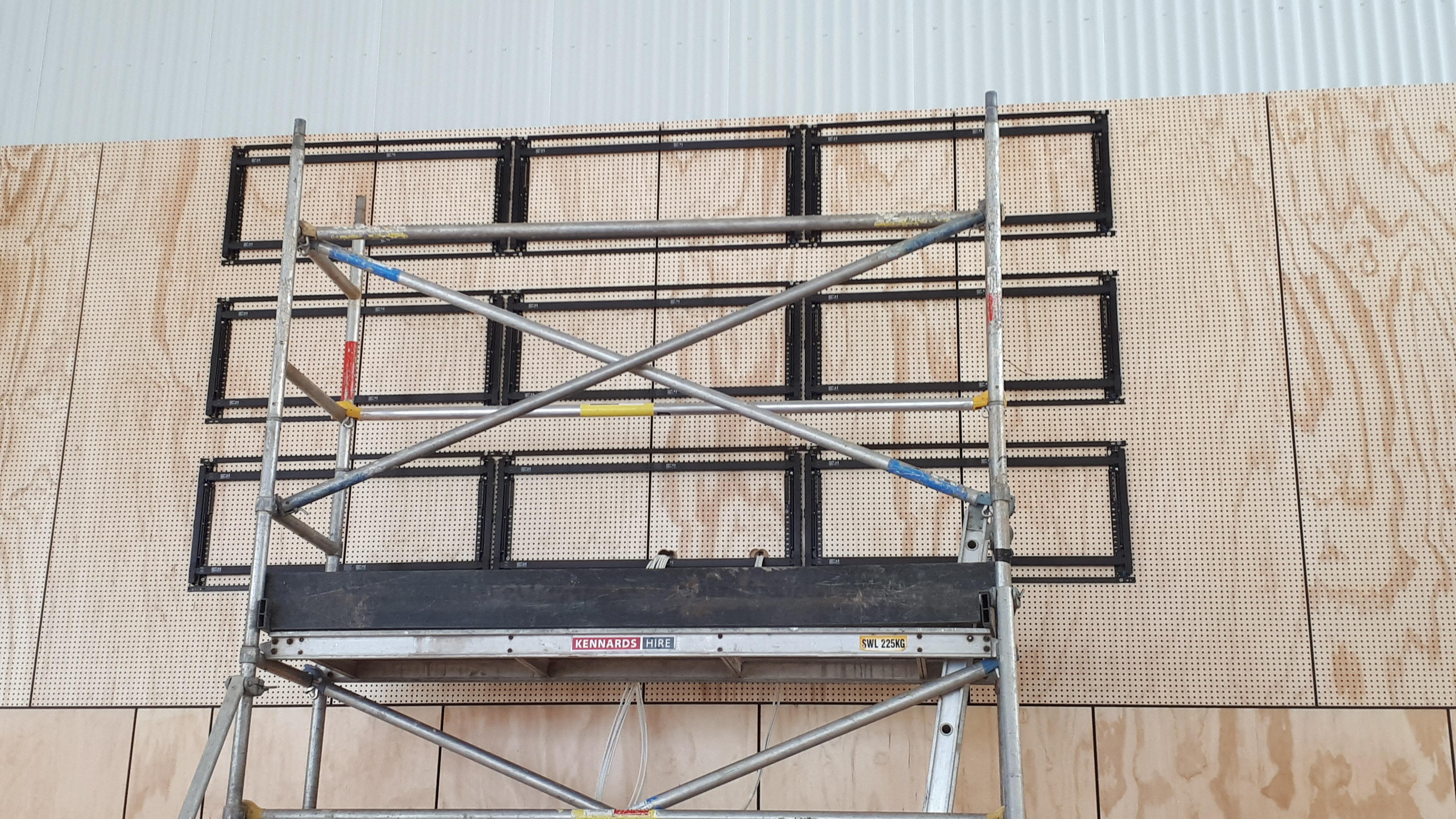 Video Wall Installation