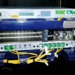 Arris Laser, 4 Port EDFA and distribution splitter tray. Optical SMATV solution
